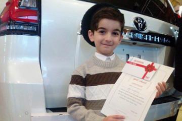 ტოიოტა 8 წლის გეგას იაპონიაში იწვევს