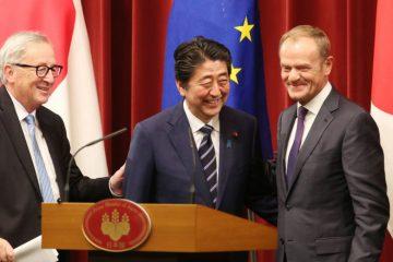 ევროკავშირმა და იაპონიამ თავისუფალი ვაჭრობის შესახებ შეთანხმებას მოაწერეს ხელი