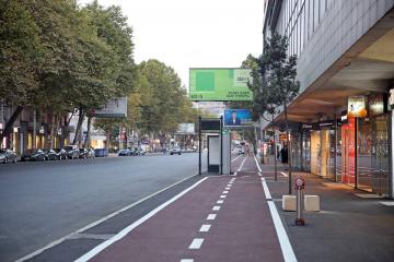 კოსტავასა და შარტავას ქუჩებზე ველობილიკი მოეწყობა