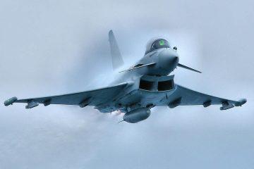 ბრიტანულმა Eurofighter-ებმა შავი ზღვის საჰაერო სივრციდან რუსული Су-24-ები გააცილეს