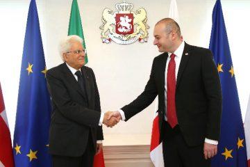 პრემიერ-მინისტრი იტალიის პრეზიდენტს შეხვდა