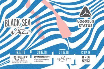 თიბისი სტატუსი და კომპანია ისთერნ პრომოუშენსი წარმოგიდგენთ  შავი ზღვის რიგით მე-12 ჯაზ ფესტივალს