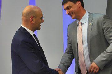 საქართველოს ფინანსთა მინისტრი ივანე მაჭავარიანი ბელარუსის ფინანსთა მინისტრს შეხვდა