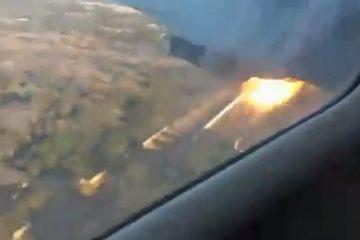 მგზავრმა თვითმფრინავის ჩამოვარდნისას გადაღებული ვიდეო გაავრცელა