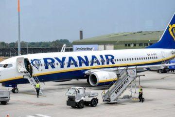 Ryanair-ის პილოტების გაფიცვის გამო 400-მდე ფრენა გაუქმდა