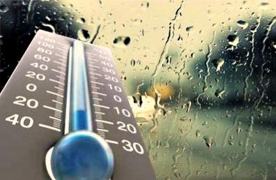کاهش ۱۰ تا ۱۲ درجه ای دمای هوای خراسان شمالی تا صبح سه شنبه