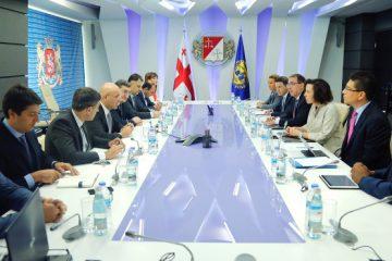 ფინანსთა მინისტრი საერთაშორისო სავალუტო ფონდის მისიას შეხვდა