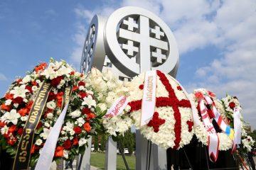 გიორგი ტყემალაძემ და საკრებულოს წევრებმა 2008 წლის რუსეთ-საქართველოს ომის დროს დაღუპულთა ხსოვნას პატივი მიაგეს