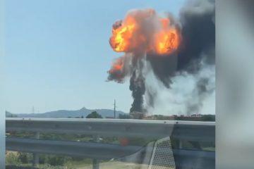 ბოლონიის აეროპორტთან ძლიერი აფეთქება მოხდა