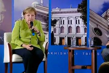 მერკელი: ევროპული მხრიდან ძალიან სწრაფ, ნაჩქარევ დაპირებებს ვერ მოგცემთ