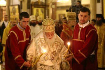 ღვთისმშობლის შობის დღესთან დაკავშირებით, პატრიარქი დიდუბის ეკლესიაში საღმრთო ლიტურგიას აღავლენს