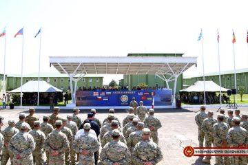 სენაკში მრავალეროვნული სამხედრო სწავლება Agile Spirit 2018 დაიწყო