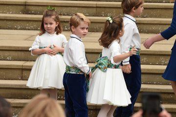 პრინცმა ჯორჯმა და პრინცესა შარლოტამ სამეფო ქორწილში ყველა მოხიბლეს (ფოტოები)
