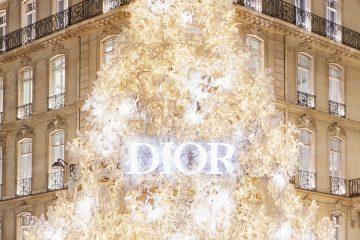 Dior-ის საახალწლო ნაძვის ხე (ვიდეო)