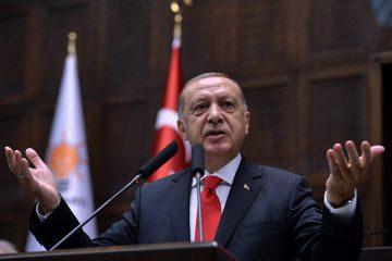 რეჯეფ თაიფ ერდოღანი: თურქეთი რამდენიმე დღეში სირიაში საომარ მოქმედებებს დაიწყებს
