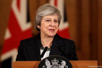 """დიდი ბრიტანეთის პრემიერ-მინისტრი: """"ბრექსიტის"""" ჩავარდნით ქვეყანა გაურკვეველ ვითარებაში აღმოჩნდება"""