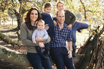 სამეფო ოჯახმა 2018 წლის საშობაო ბარათები გამოუშვა