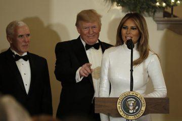 მელანია ტრამპი: კეთილი იყოს თქვენი მობრძანება თეთრ სახლში! გისურვებთ ბედნიერ შობასა და ახალ-წელს