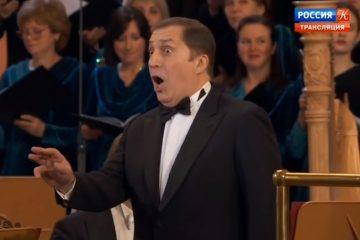 ბურჭულაძემ რუსეთში იმ კონცერტზე იმღერა, რომელსაც პუტინი ესწრებოდა