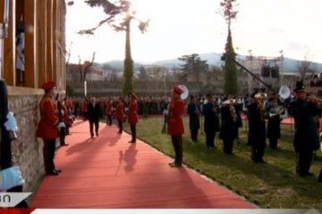 საქართველოს პრეზიდენტის, სალომე ზურაბიშვილის ინაუგურაცია თელავში