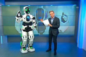 """მაღალტექნოლოგიური რობოტი """"ბორისი"""", რომელიც გადაცმული კაცი აღმოჩნდა"""