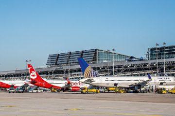 გერმანიის მსხვილი აეროპორტები მოსალოდნელი საფრთხის შესახებ გააფრთხილეს