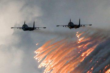 შორეული აღმოსავლეთის საჰაერო სივრცეში ორი ბომბდამშენი ერთმანეთს დაეჯახა