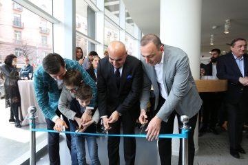 """""""არქის"""" ახალი ოფისი და გალერეა ფილარმონიის შენობაში გაიხსნა"""