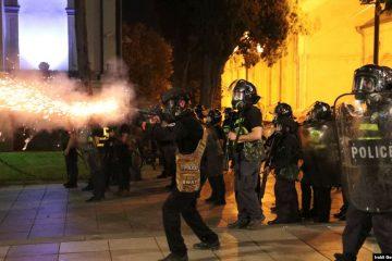 """""""პოლიციამ თბილისში არაძალადობრივად განწყობილი დემონსტრანტების წინააღმდეგ რეზინის ტყვიები და ცრემლსადენი გაზი გაფრთხილების გარეშე გამოიყენა"""""""
