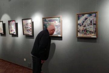 თბილისში არტ გალერეა Akhundov House-ში (გორგასლის ქ. 17) მხატვარ ეკა შალამბერიძის პირველი პერსონალური გამოფენა გაიხსნა.