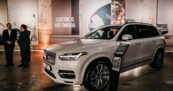 ვოლვო საქართველო გლობალური მიზნების კვალდაკვალ – Volvo Art Night