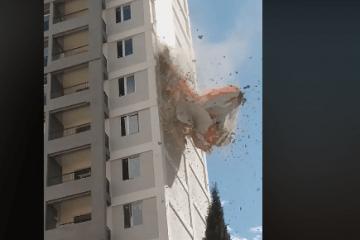 რა მოხდა ატენის ქუჩაზე (ვიდეო)