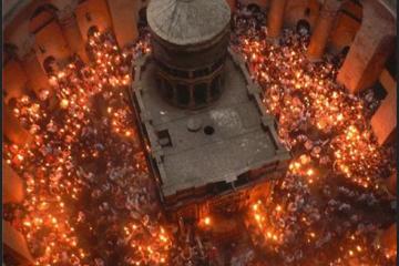 დღეს საქართველოში წმინდა ცეცხლს ჩამოიტანენ