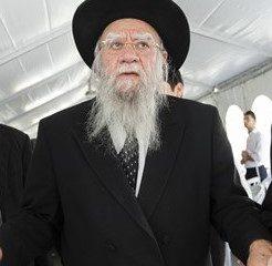 ისრაელის ყოფილი მთავარი რაბინი, ელიაჰუ ბაკში-დორონი კორონავირუსით გარდაიცვალა