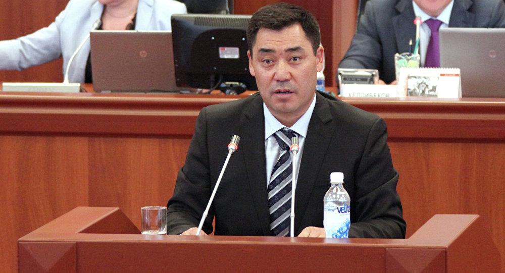 კოლონიიდან გათავისუფლებული ოპოზიციონერი პოლიტიკოსი სადირ ჟაფაროვი ყირგიზეთის ახალი პრემიერ მინისტრია