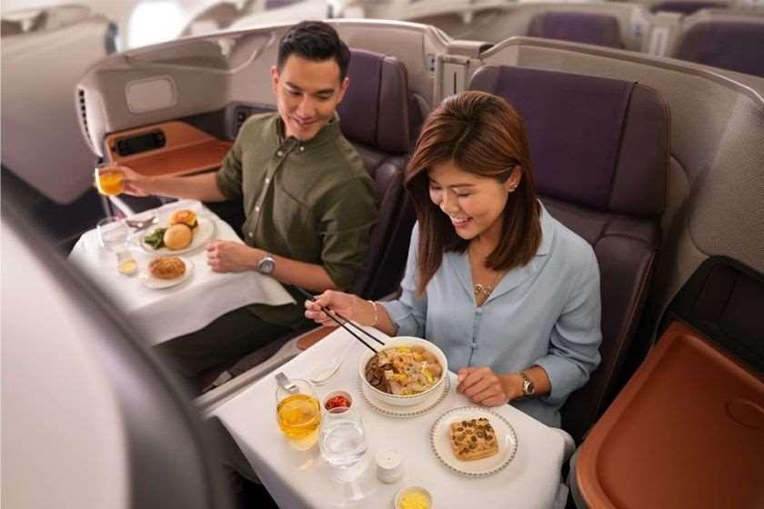 """""""სინგაპურის ავიახაზებმა"""" ორი Airbus A380 რესტორნებადგადააკეთა"""