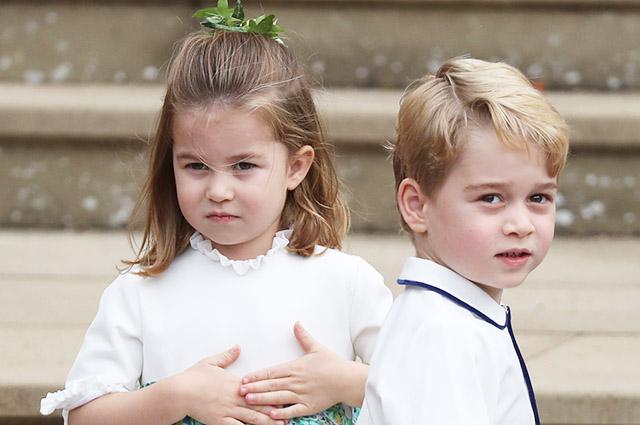 პრინცმა ჯორჯმა, პრინცესა შარლოტამ და პრინცმა ლუიმ დედოფალ ელისაბედ II  და პრინც ფილიპეს ქორწინების 73 წლის იუბილე მიულოცეს