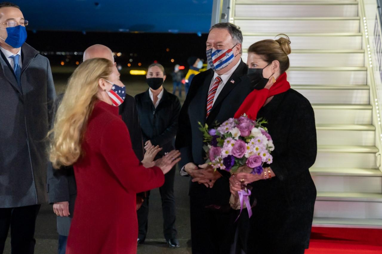 """აღფრთოვანებული ვარ თბილისში ყოფნით – აშშ-ის სახელმწიფო მდივანი მაიკ პომპეო """"ტვიტერზე""""წერს"""