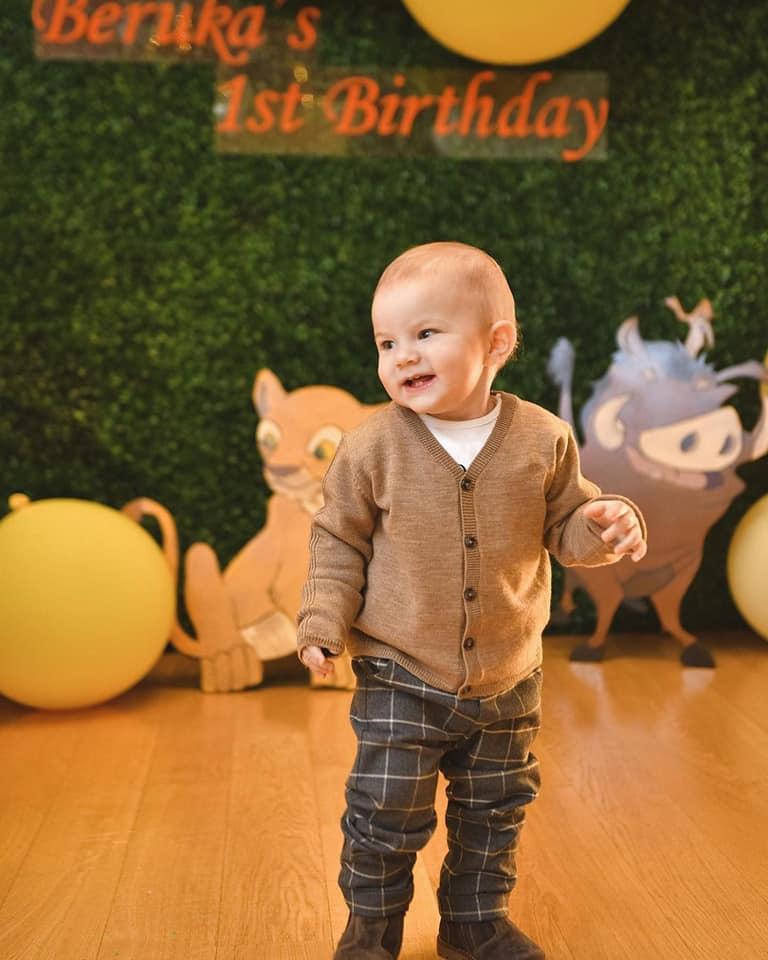 ბერუკა ივანიშვილი 1 წლის გახდა (ფოტოები)