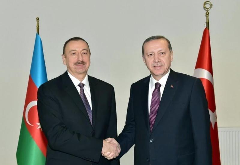 თურქეთის პრეზიდენტი ოფიციალური ვიზიტით აზერბაიჯანს ესტუმრა