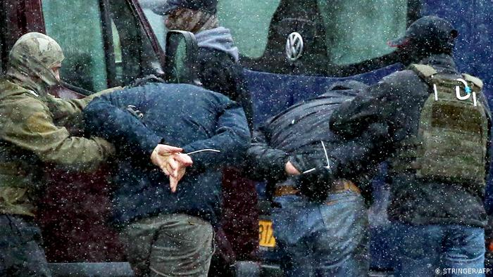 ბელარუსის დედაქალაქში საპროტესტო აქციაზე 300 ადამიანი დააკავეს