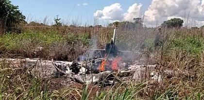თვითმფრინავი, რომლითაც ბრაზილიელი ფეხბურთელები გოიანაში მიფრინავდნენ, ჩამოვარდა