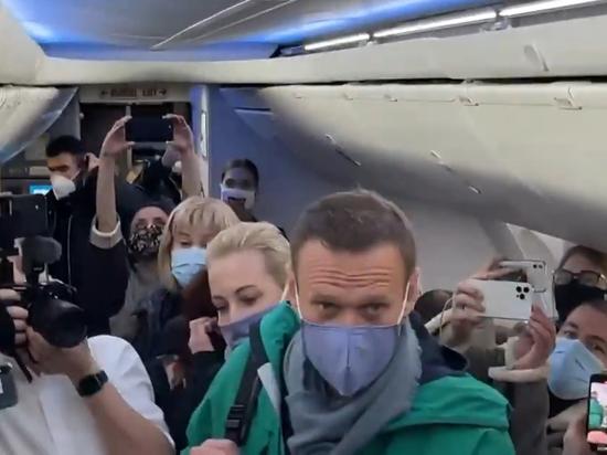 """""""იღბლიანი რიგი მაქვს  – ნომერი 13"""" – ნავალნი რუსეთში ბრუნდება (ვიდეო)"""