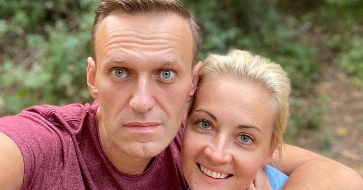 მედია: ალექსეი ნავალნის მეუღლემ რუსეთი დატოვა