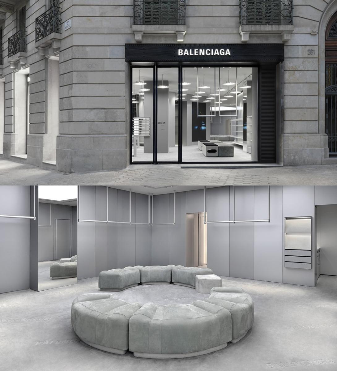 ბალენსიაგას რიგით 72-ე მაღაზია ბარსელონაში გაიხსნა