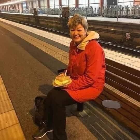 შვედი მინისტრი, რომელიც სამსახურში მატარებლით დადის
