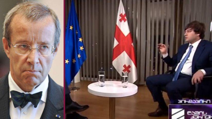 ტომას ჰენდრიკ ილვესი: რა ჯანდაბა უნდა ევროკავშირის დროშას ამ ინტერვიუს ფონზე?