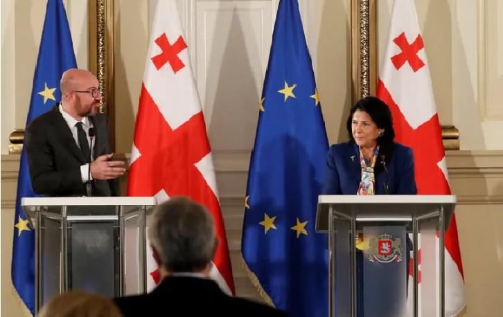 ევროკავშირს სურს დარჩეს საქართველოს გვერდით – მინდა, კიდევ ერთხელ გამოგიცხადოთ ევროკავშირის მხრიდან მეგობრობის მესიჯი