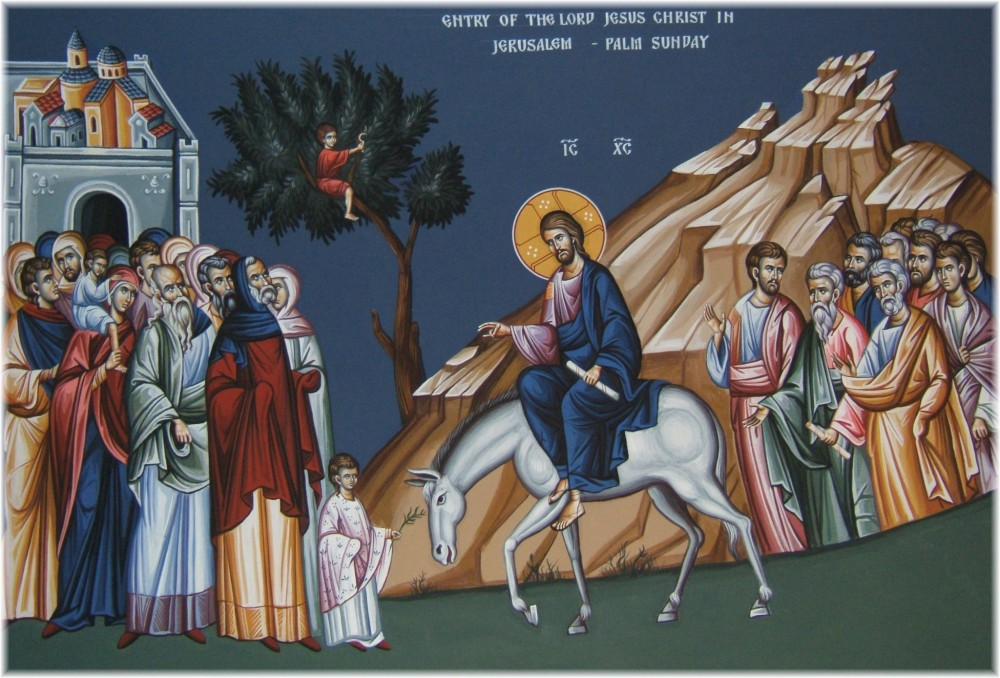 მართლმადიდებელი ეკლესია დღეს ერთ-ერთ მთავარ საუფლო დღესასწაულს, ბზობას აღნიშნავს