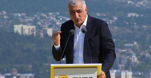 """მამუკა ხაზარაძე: უნდა მივაღწიოთ, რომ სამარცხვინოდ დამარცხდეს """"ქართული ოცნება"""""""